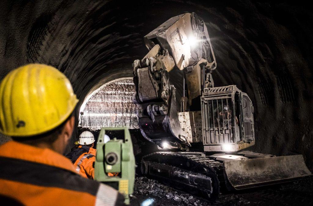 Der Tunnelbau im Neckartal führt immer wieder zu Beschwerden der Anwohner. Foto: Lichtgut/Kovalenko