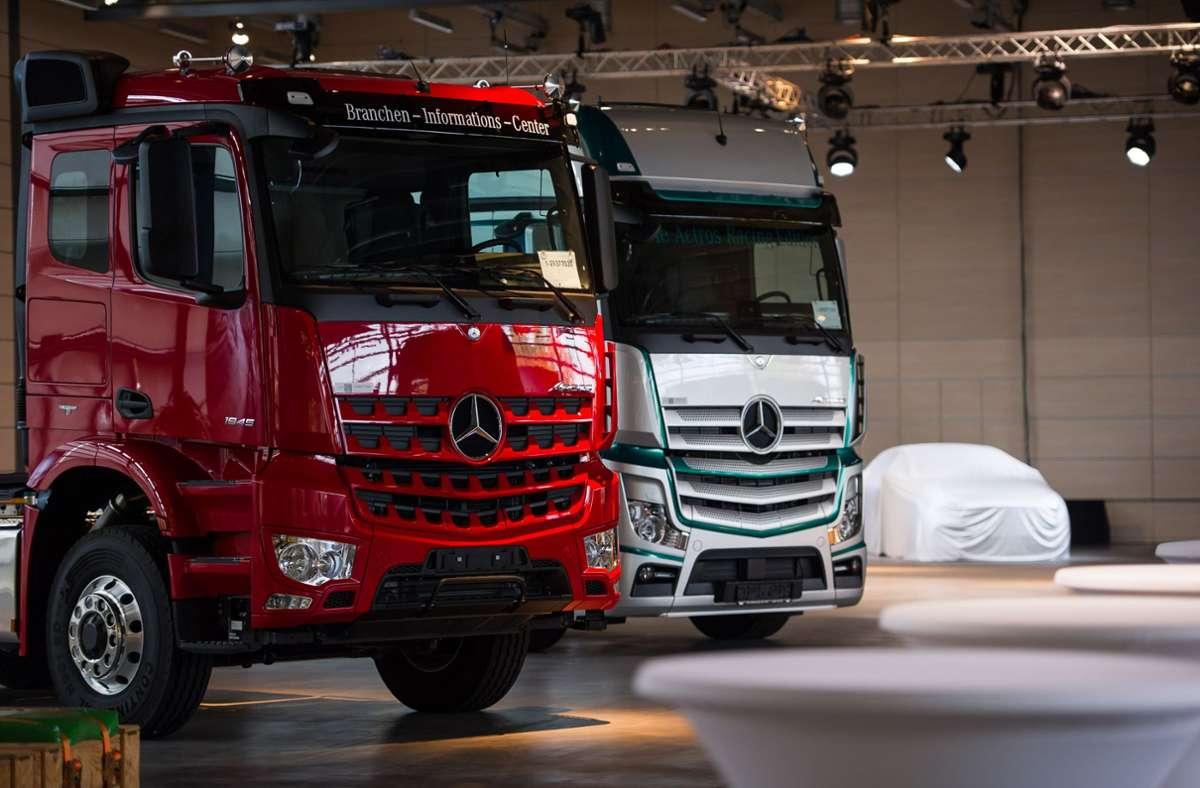 Die Daimler AG trennt sich in Mercedes Benz und Daimler Trucks. Foto: Lichtgut/Max Kovalenko