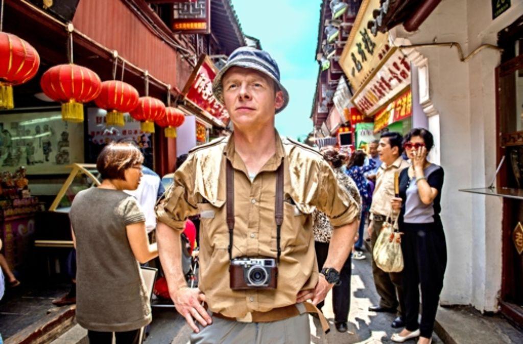 Er sieht die Welt mit den Augen eines Kindes: der Komiker Simon Pegg als globetrottender   Hector. Foto: Wild Bunch