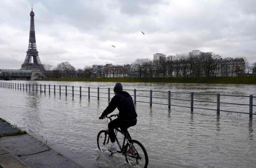 Alarmstufe Orange - Paris sperrt zahlreiche Uferpromenaden