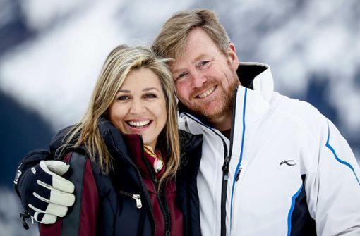 Ausgelassene Stimmung im Skiurlaub der Royals