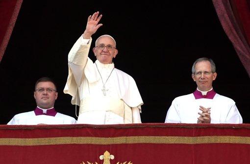 Papst Franziskus geißelt Krieg im Heiligen Land