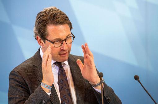 Scheuer: Autobesitzer sollen nichts bezahlen müssen