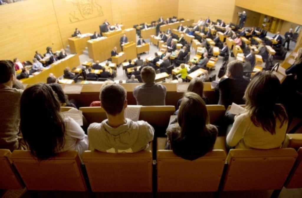Hintergrund der Debatte im Landtag ist eine Bürgerbefragung in der Region des möglichen Nationalparks. Die wichtigsten Infos zum Nationalpark haben wir in einer Bilderstrecke zusammengefasst. Foto: dpa