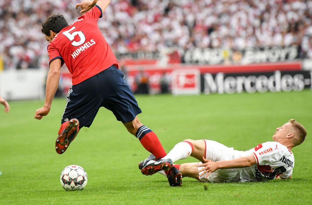 Der Argentinier Santiago Ascacibar (rechts) ist für die Nationalmannschaft nominiert worden – nicht der einzige Profi des VfB Stuttgart, der dieser Tage verreist ist. Foto: dpa