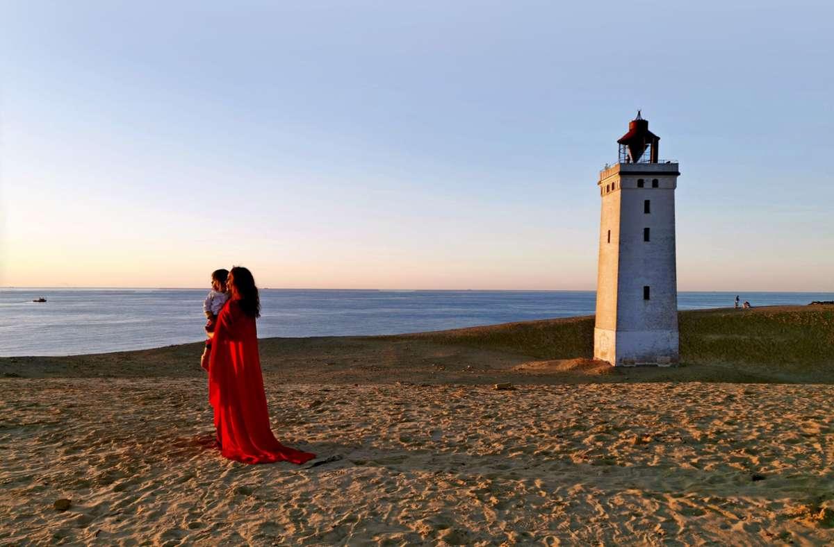 Romantisch: Sonnenuntergang an der Erhebung von Lønstrup Klint. Foto: Marc Vorsatz Foto: