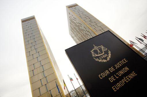 EU-Gericht verhandelt über Zwangshaft für Politiker