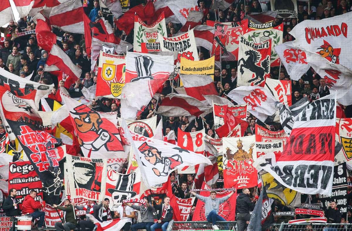 """Am Ende standen die Buchstaben """"VfB"""" bei der Abstimmung ganz oben. Foto: Pressefoto Baumann/Alexander Keppler"""