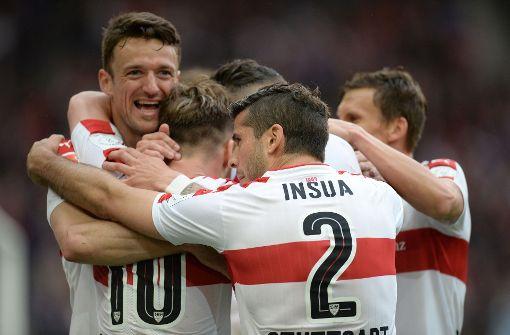 Der VfB Stuttgart befindet sich momentan mitten im Aufstiegsrennen. Wir haben das Restprogramm der Top-Teams in Liga zwei. Foto: dpa