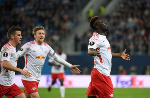 RB Leipzig im Viertelfinale gegen Marseille
