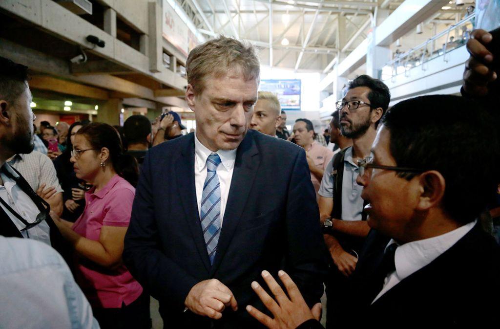 Der deutsche Botschafter in Caracas, Daniel Kriener, muss das Land verlassen. Foto: dpa