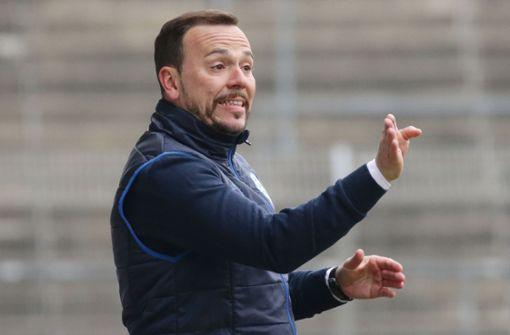 Stuttgarter Kickers gegen SSV Ulm mit 2:2