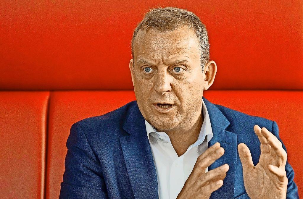 Roman Zitzelsberger zeigt sich überrascht vom scharfen Ton der Arbeitgeber. Foto: dpa