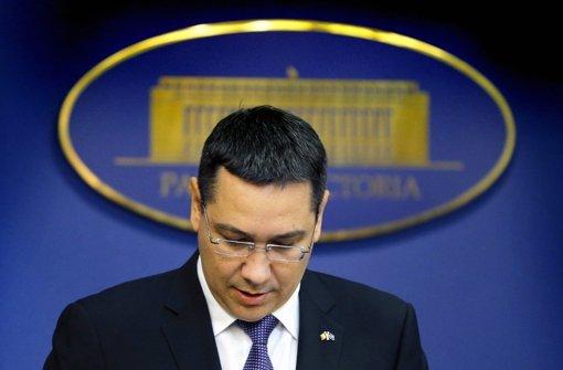 Ministerpräsident Victor Ponta zurückgetreten