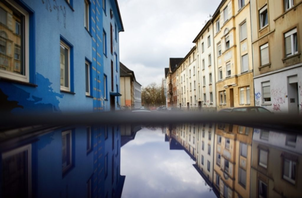 Verwahrlostes Viertel in Dortmund: Migranten landen oft in schlechten Wohnungen. Foto: dpa
