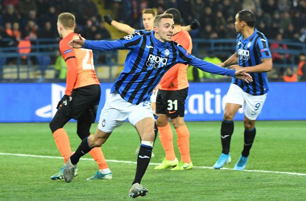 Timothy Castagne erzielte das wichtige 1:0. Foto: AFP/SERGEI SUPINSKY