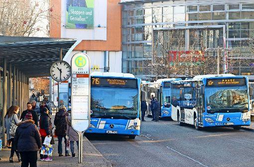 Mehr Busse, vor allem am Sonntag