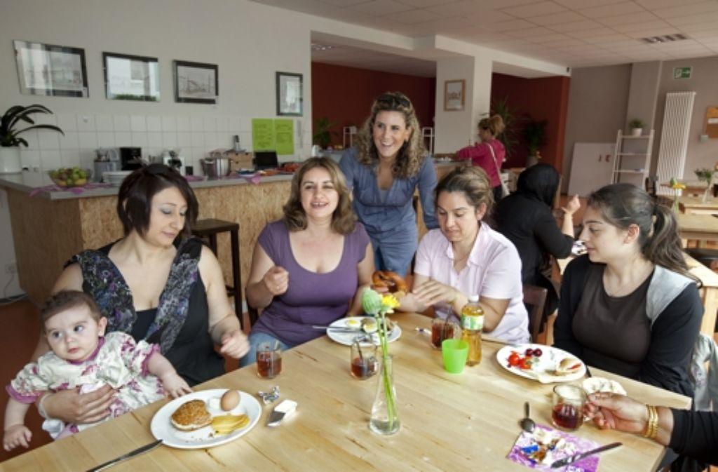 Das neue Familienzentrum kommt in Untertürkheim gut Foto: Rudel