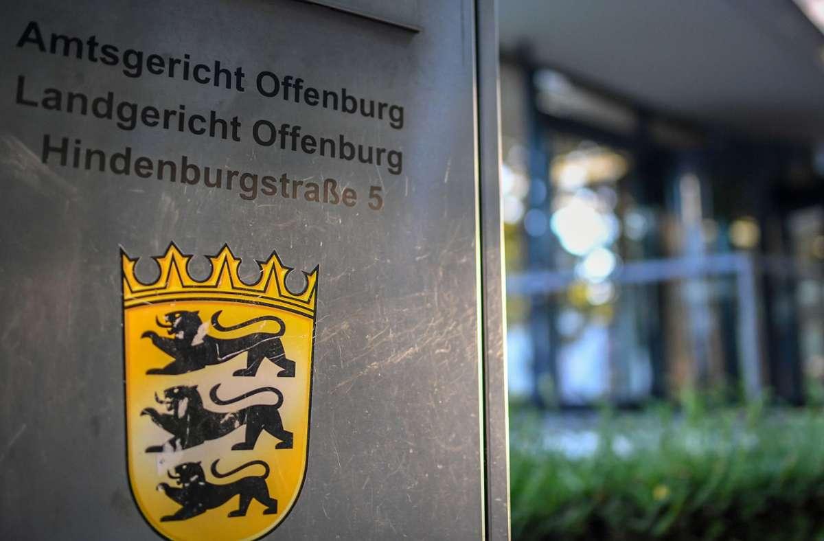 Landgericht in Offenburg. (Archivbild) Foto: dpa/Patrick Seeger