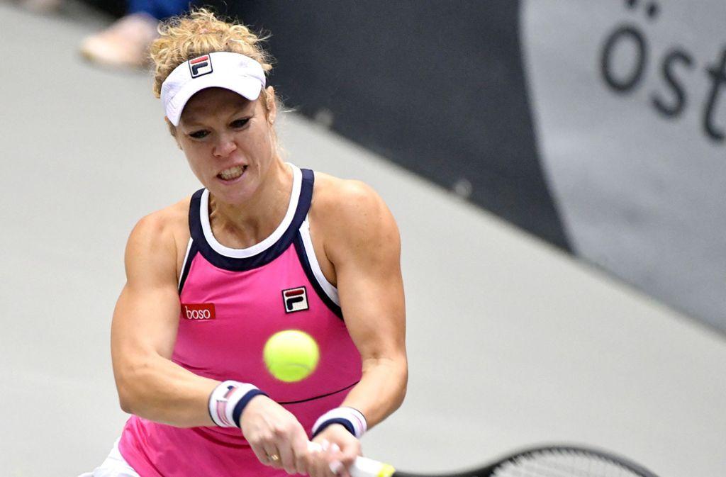 Laura Siegemund zog in Luxemburg im Viertelfinale den Kürzeren. Foto: dpa/Barbara Gindl