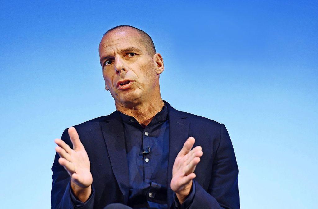 Yanis Varoufakis feiert sein politisches Comeback – kann er zur kommenden Europawahl auch die Wähler in Deutschland überzeugen? Foto: EPA