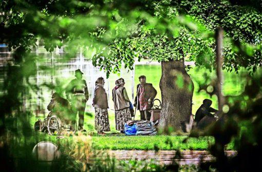 Stadt lässt illegales Zeltlager räumen