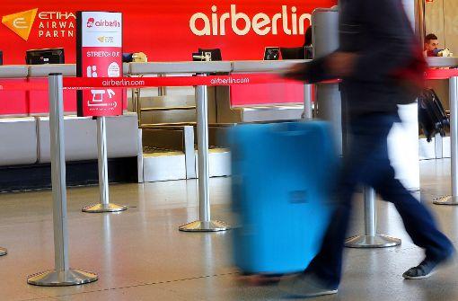 Airberlin ändert seine Check-in-Zeiten