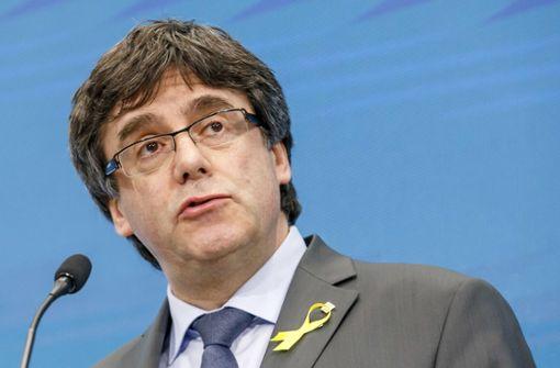 Carles Puigdemont bleibt in Gewahrsam