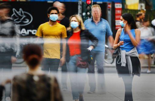 Breite Mehrheit für Maskenpflicht