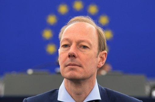 """Chef der """"PARTEI"""" und Europaabgeordneter: Martin Sonneborn Foto: epa"""
