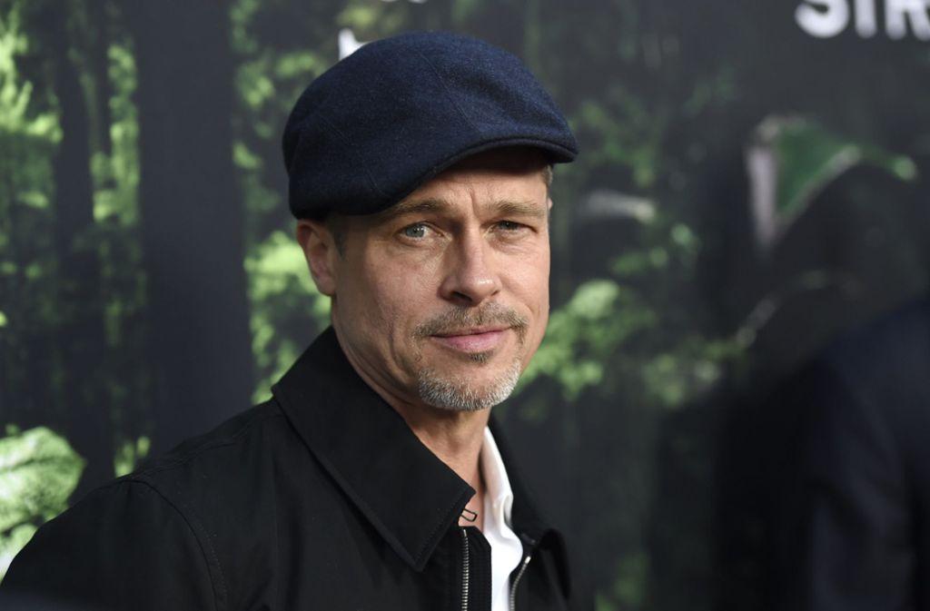 Brad Pitt zieht es ins Weltall Foto: dpa