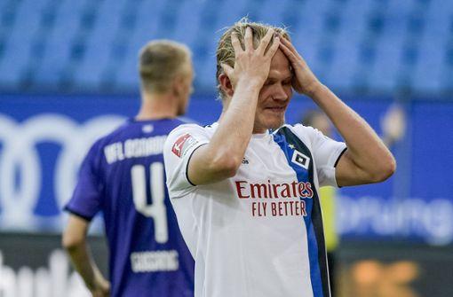 Der Hamburger SV zwischen Selbstvertrauen und Selbstzweifel