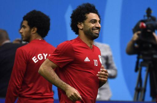 Mohamed Salah gegen Russland in der Startelf