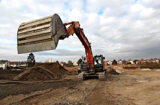 Baustellenbesuch in Langenäcker-Wiesert