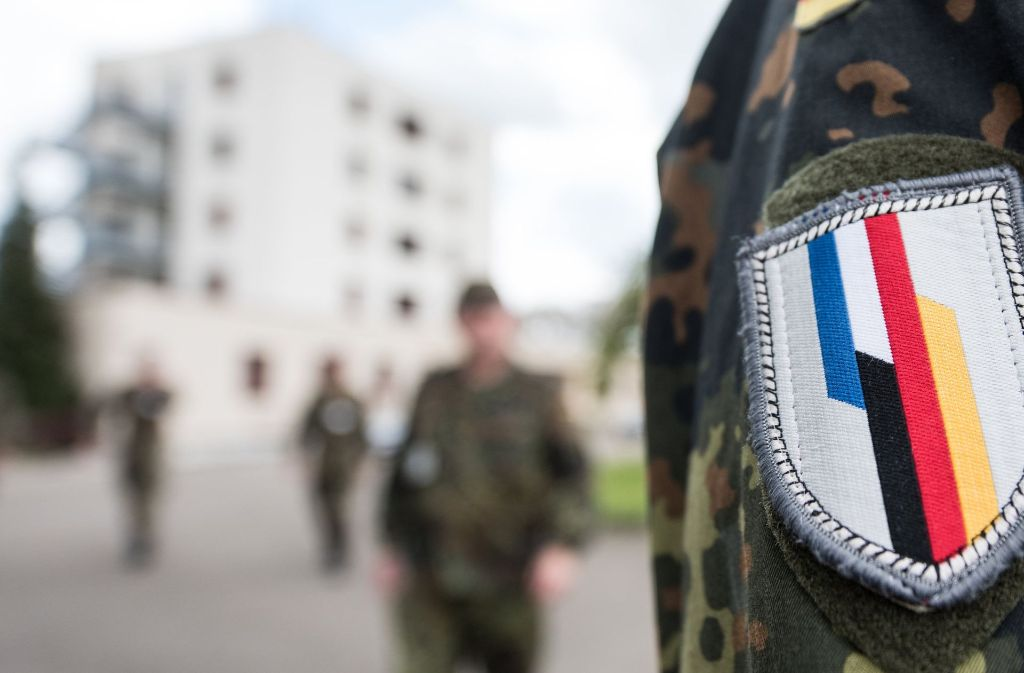 In Illkirch bei Straßburg (Frankreich) war der terrorverdächtige Oberleutnant Franco A. stationiert. Foto: dpa
