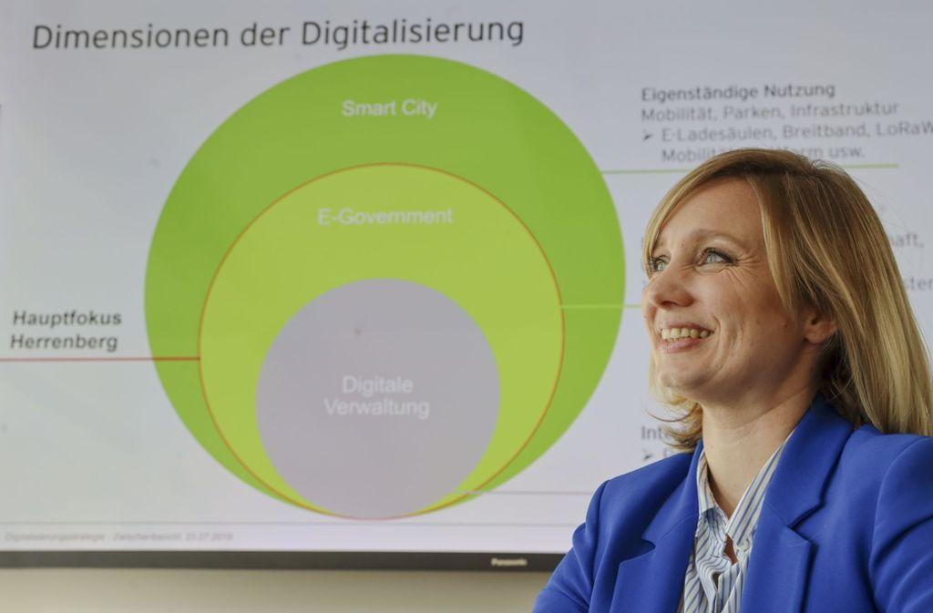 """""""Es geht auch um einen Kulturwandel"""", sagt Caroline Küpfer. Foto: factum/Simon Granville"""