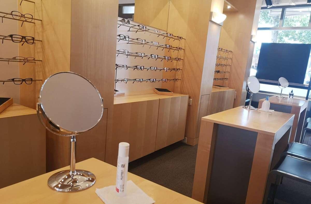 Einbrecher suchten einen Optiker in Botnang heim. (Symbolbild) Foto: imago images/Geisser/MANUEL GEISSER via www.imago-images.de