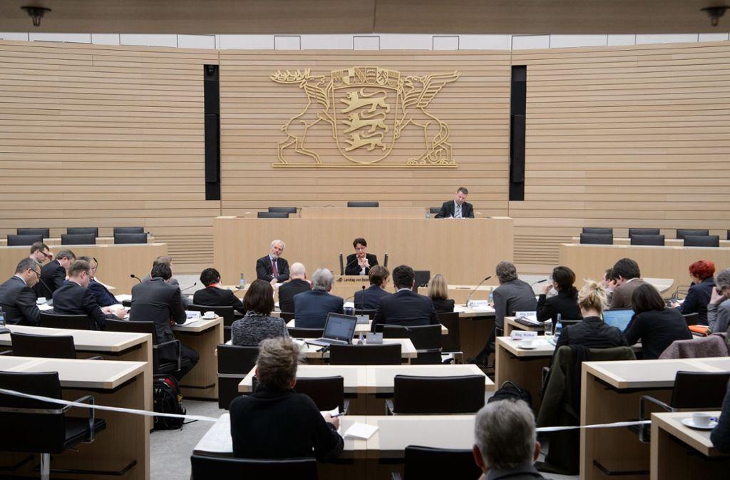 Die AfD-Fraktion im Stuttgarter Landtag beschäftigt einen umstrittenen Berater. Foto: dpa