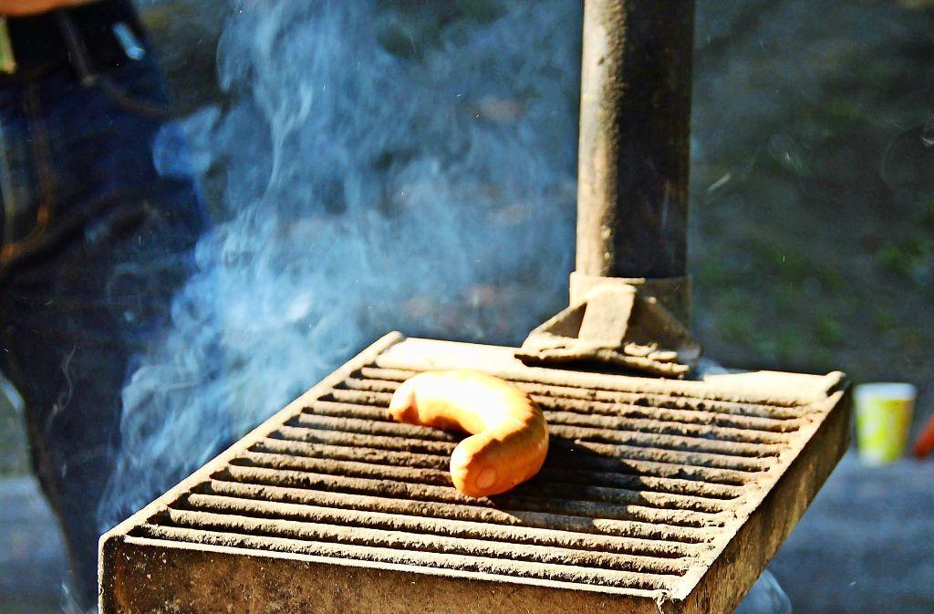 Nur  an offiziellen Grillstellen ist das Brutzeln erlaubt. Foto: Isabelle Butschek