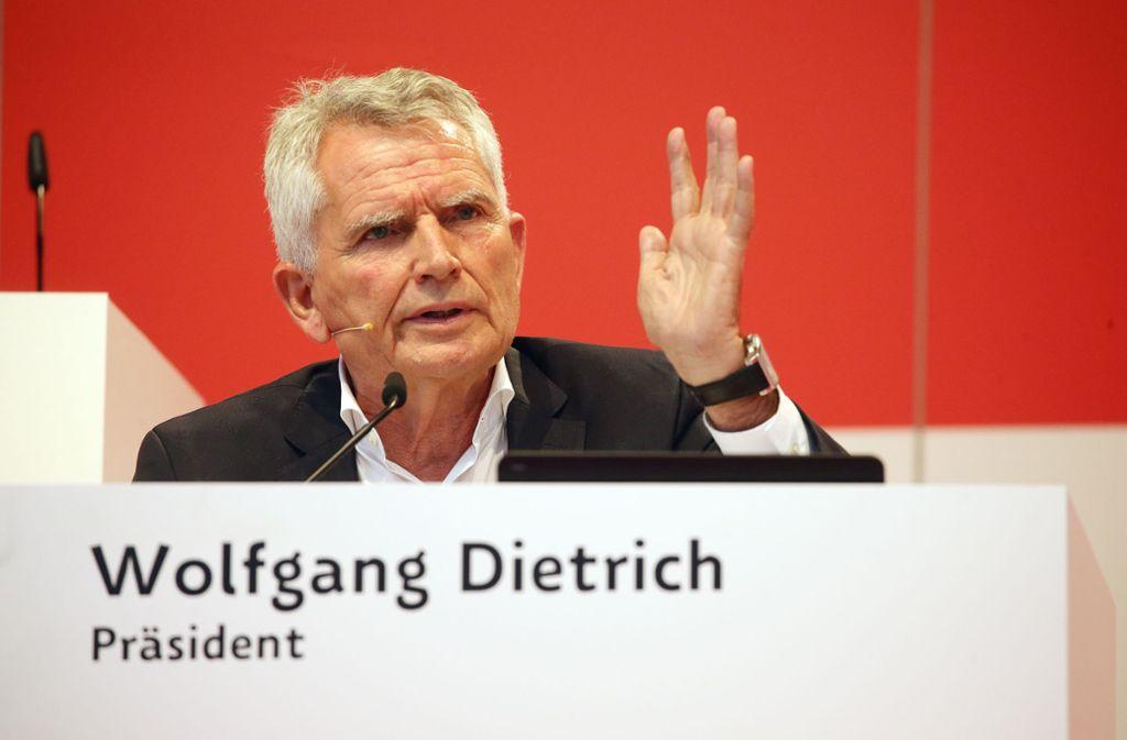 Gesucht wird der Nachfolger des zurückgetretenen Wolfgang Dietrich. Foto: Baumann