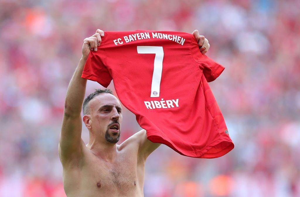 """Ribery #7"" heißt das nach Franck Ribery benannte Steak im Steakhaus in Dubai. Foto: Bongarts/Getty Images"