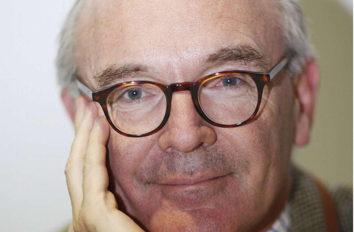 Schreiben wider den Zeitgeist: Martin Mosebach. Foto: imago stock&people/imago stock&people
