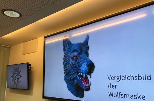 Wolfsmaske von mutmaßlichem Vergewaltiger gefunden