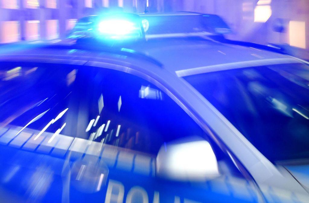 Die Polizei hat einen Mann festgenommen, der seine Freundin bedroht haben soll (Symbolbild). Foto: dpa