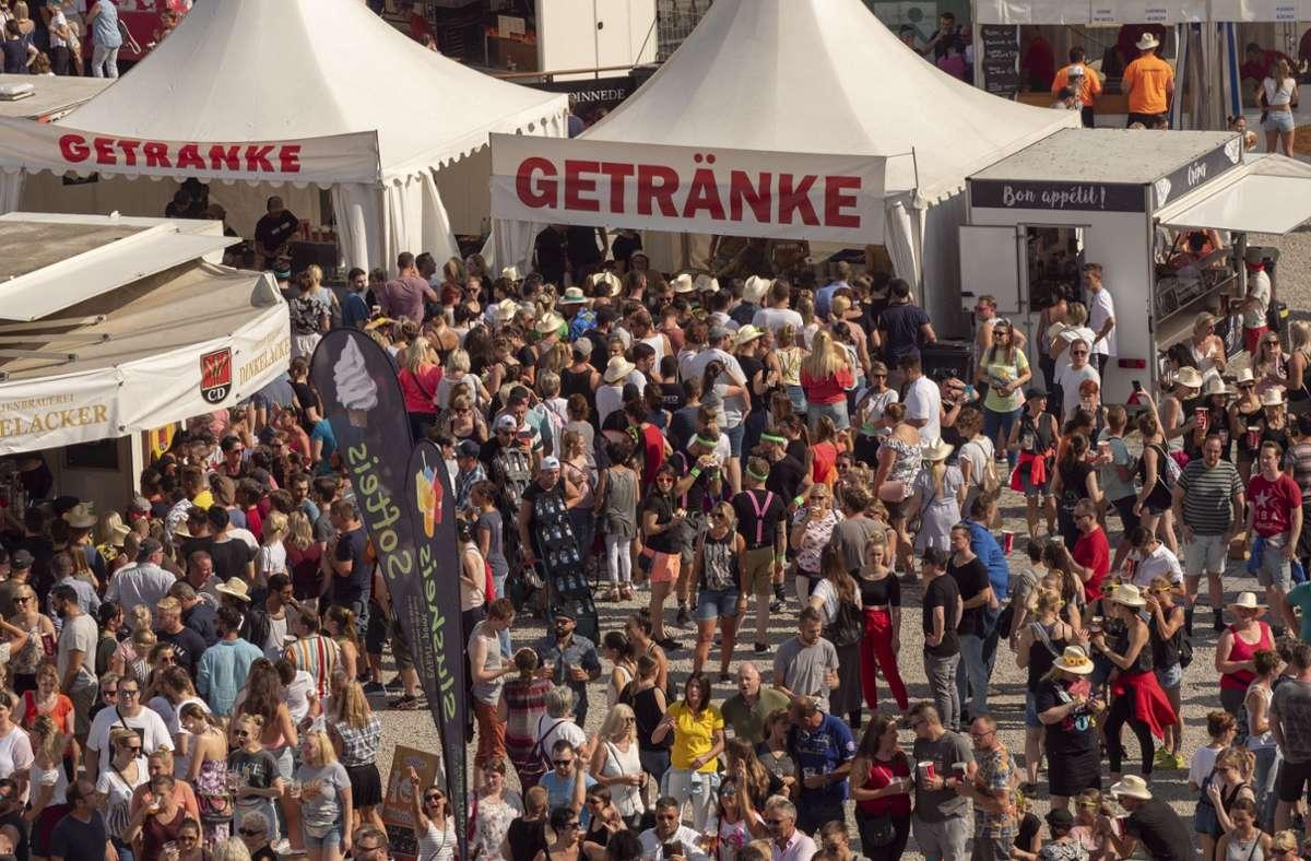 Immer gut besucht: Die  Music Open in Ludwigsburg Foto: factum/Weise/Andreas Weise/factum