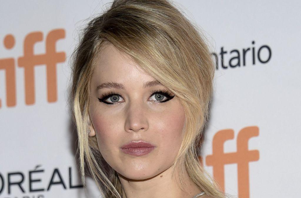 Jennifer Lawrence kennt auch die Schattenseiten des Ruhms. Foto: Invision/AP