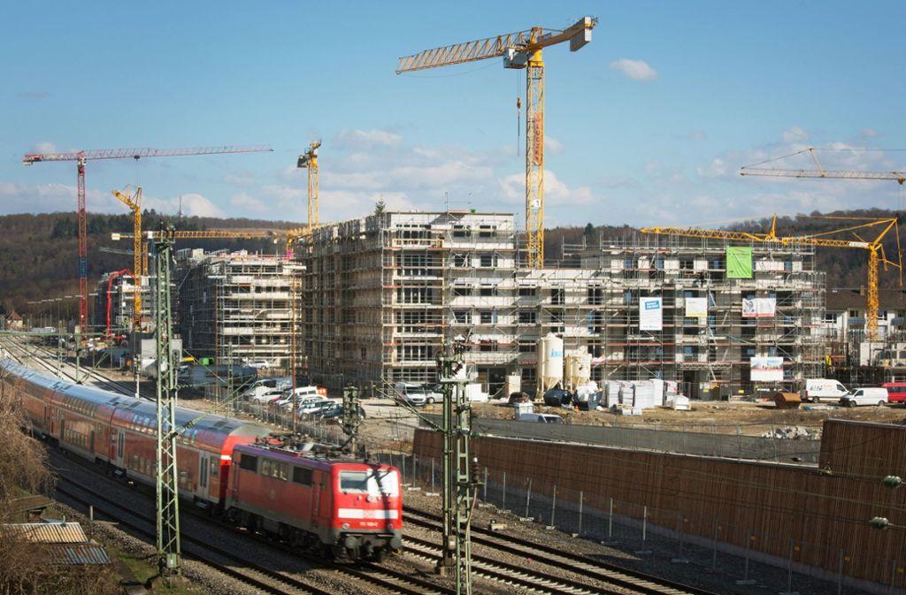Tübingen soll möglichst optimal an die Neubaustrecke Stuttgart-Ulm angeschlossen werden. Foto: epd