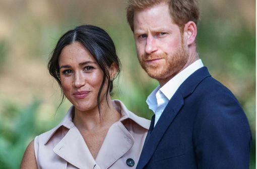 Herzogin Meghan und Prinz Harry packen mit an