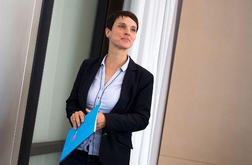 Frauke Petry im Fokus der Diskussion