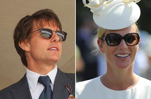Tom Cruise, Zara Phillips und die Pferde